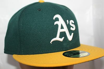 c26417daba4 OAKLAND ATHLETIC NEW ERA 59FIFTY FITTED HAT CAP NEW! Official MLB ...