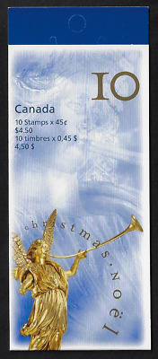 Canada Stamps - Booklet Pane of 10 - Christmas: Angel & Last Judgement #1764 MNH