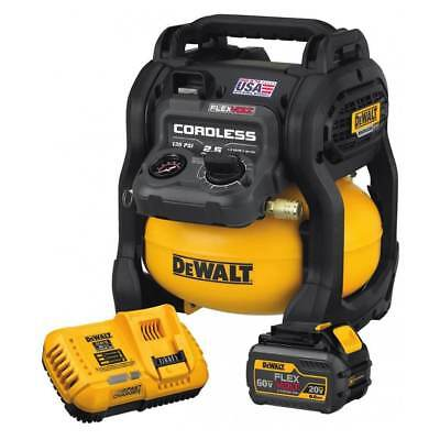 DEWALT DCC2560T1 FLEXVOLT 60-Volt Max* 2.5-Gallon Cordless Air Compressor Kit