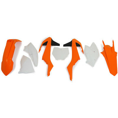 Racetech NEW Mx KTM SX SXF 16-18 OEM '18 RTECH Motocross Dirt Bike Plastics Kit