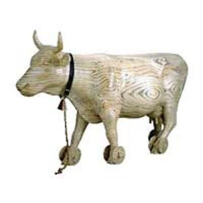 Cows on Parade collectible - Pull Toy, #9130, Retired