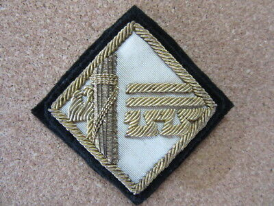 WWII-era Italian Rank Patch for a High Leader in the Italian Fascist Party - PNF