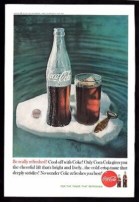 Coca Cola ads - Three from 1960
