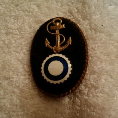 ww2 Finnish Navy/ coast guard cap badge
