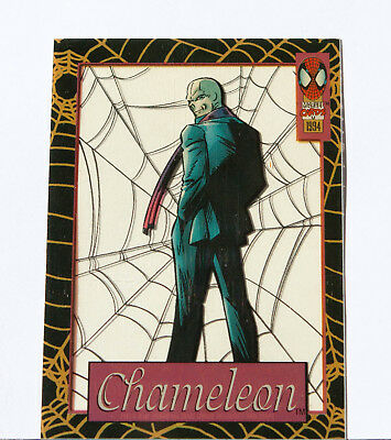 1994 Spider-Man Suspended Animation Limited Edition Subset #3 CHAMELEON LIKE NEW