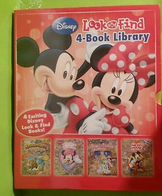 Disney Look And Find Book Collection