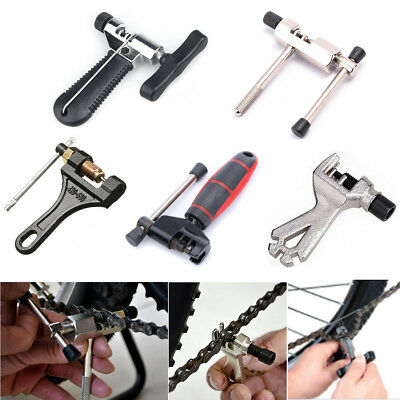 Bike Bicycle Cycling MTB Steel Chain Breaker Splitter Cutter Remover Repair Tool