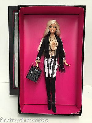 Mattel Barbie Loves MAC Cosmetics Gold Label hot blonde NRFB NIB