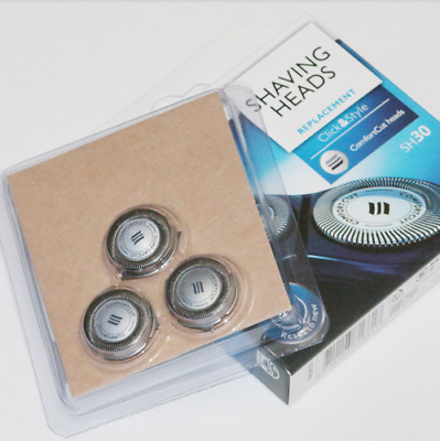 New Genuine Philips Norelco Shaving Heads Replacement SH30 S510 S511 S560 S570