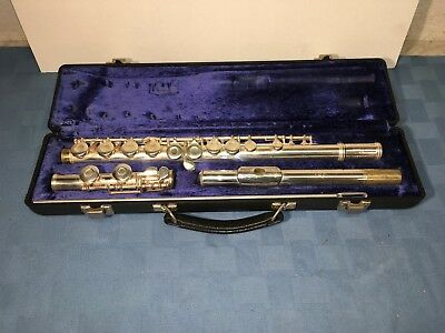 GEMEINHARDT Silver-Plated Student Flute Model 2SP With Hard Case