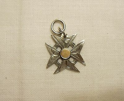 Antique Sterling Silver Charm, 1906, Chester, England
