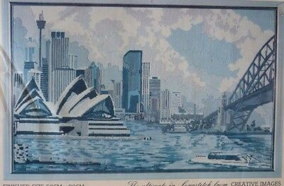 Creative Images Longstitch Sydney Harbour 2020-8 - Large Unused In Box Rare Item