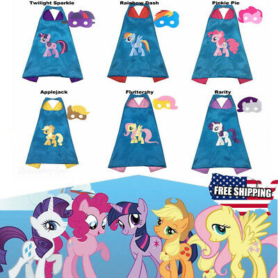 (1 cape+1 mask) Cape for kid birthday party favors and ideas Kids Pony Cape US