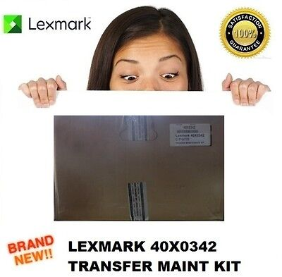Brand New Lexmark 40X0342 Image Transfer Unit Maintenance Kit C770 C772