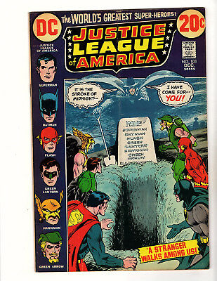 Justice League of America #103 (1972 DC) VG- Halloween Issue Len Wein Nick Cardy
