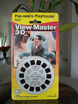 1988 PEE WEE Herman 3D View Pee Showtime Classics Pictures (NEW)