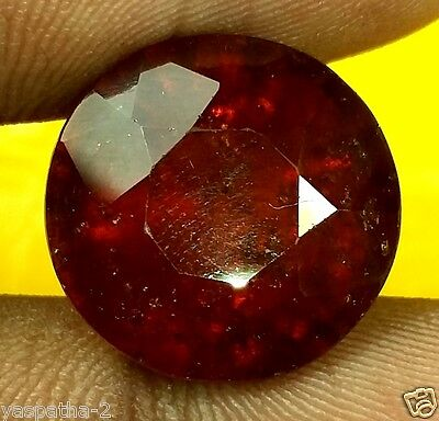 14.16 CT Hessonite 100% Natural GIE Certified Unheated & Untreated Gemstone