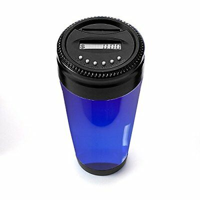 Digital Coin Holder for Cars – Coin Counter for Car Cup Holders Automatically...