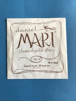 7x Vintage 1970's Daniel Mari Guitar Strings Rare Collectors!