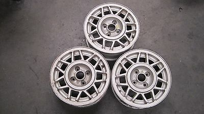 "Three V W Used wheels 6""J x 14""  Match Style and Size Original Genuine Vintage"