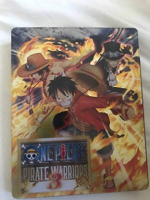 One Piece Pirate Warriors 3 Steel Book Empty Case only NO disc