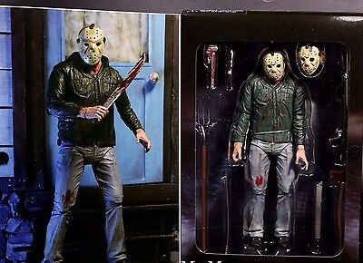 """NECA Friday the 13th Part III 3D JASON VOORHEES Scale Ultimate Action Figure 7"""""""