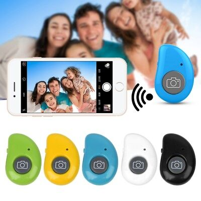Remote Control Wireless Bluetooth Selfie Shutter Button For Smartphone Tablet PC
