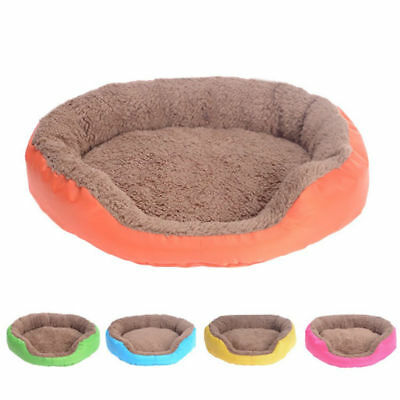 Soft Flannel Pet Dog Puppy Cat Kitten Warm Bed home House Cozy Nest Mat Pad New