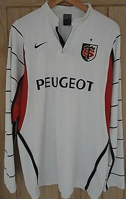 Toulouse Rugby Shirt Retro Nike Long Sleeved Stade Toulousin FRANCE Mens XL