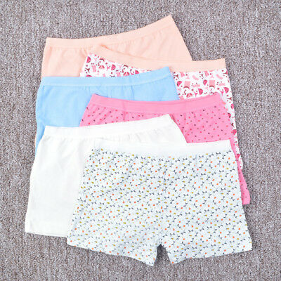 3 Pack Cool Girls Youth floral cotton Hipster boyleg underwear size Yr 3-16