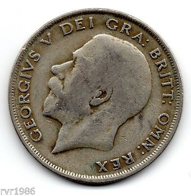 1920, George V, Halfcrown,  50%  Silver, Spink Ref No 4021