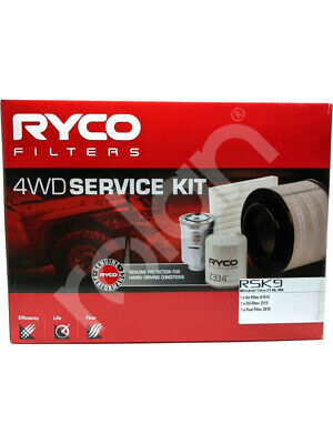 Ryco 4x4 Filter Service Kit FOR MITSUBISHI TRITON ML (RSK9)