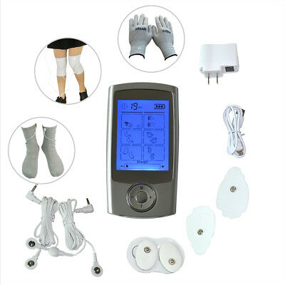 LCD Display Tens EMS Machine Pulse Therapy Massager Pain-Relieve16 Modes