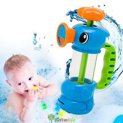 Duck Shape Pumping Spray Water Bath Swimming Pool Playing Toys for Baby Kids UK