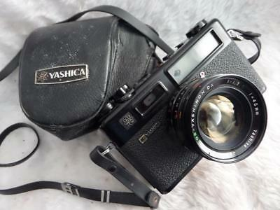 FAULTY Yashica Electro 35 GT Rangefinder Film Camera 45/1.7 lens NEW SEALS