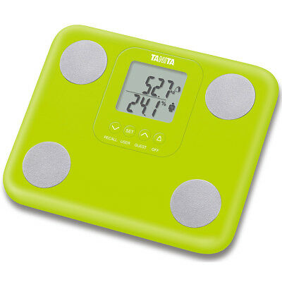 Tanita Innerscan Body Composition Monitor Weighing Scale Green Compact Light