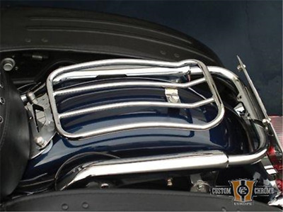 """Porte-bagages 6"""" selle simple Motherwell Harley Davidson Dyna 91-05"""