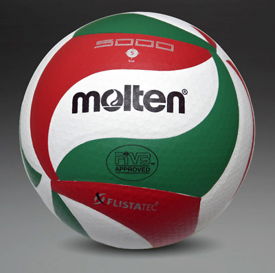 Molten VSM5000 Volleyball Ball Size5 Soft Touch PU Leather Indoor Outdoor Game