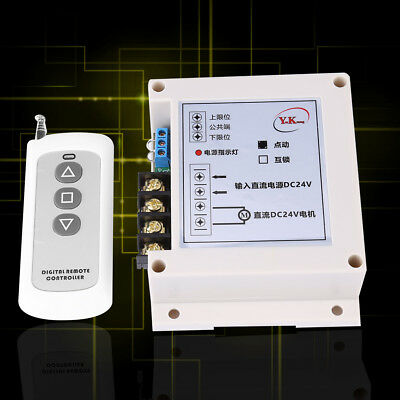 24V DC 40A 600W Motor Remote Control Switch Forward &Reverse Wireless Controller