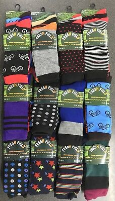 120 Pairs Of Mens Socks Assorted Size 6-11 Wholesale Job Lot