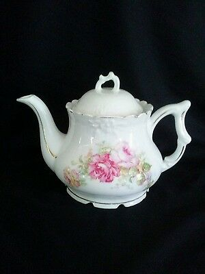 Shabby Chick Vintage Floral  Teapot Great Condition