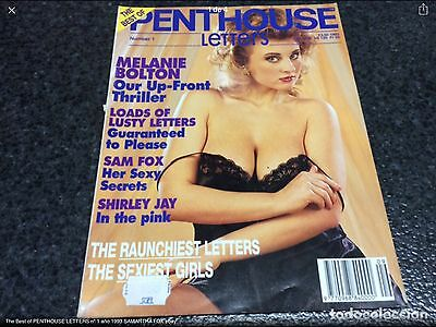 The Best of PENTHOUSE LETTERS nº 1 año 1993 SAMANTHA FOX