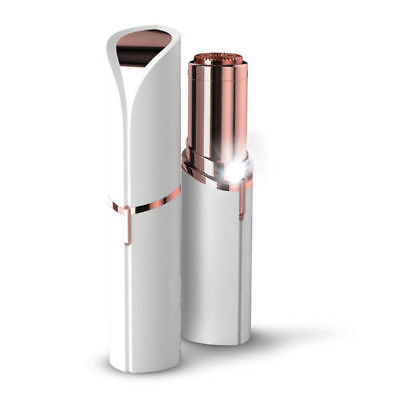 Rose Gold-Plated Epilator for Facial Hair Removal