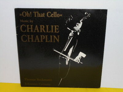 Lp - Charlie Chaplin - Oh That Cello - Beckmann - Cernota