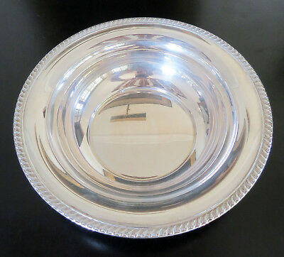 Alvin Sterling Silver Bowl - 236 grams - 9.5 Inches