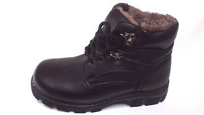 new size 6.1/2 Ladies Hiking boots Walking Boots full fur to toes strong sole