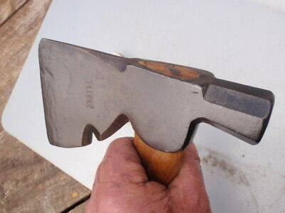 Plumb   Hatchet with notch & hammer  end