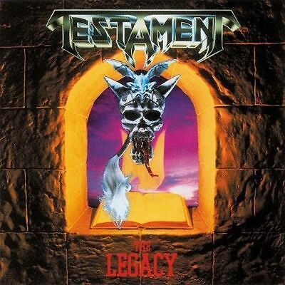 Testament - The Legacy GREEN COLOURED vinyl LP