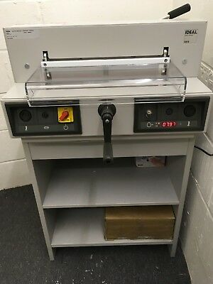Ideal Guillotine 4315 Electric SRA3 A3