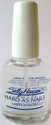 Sally Hansen  Hard As Nails With Nylon - Nail Strengthener Clear   13.3ml